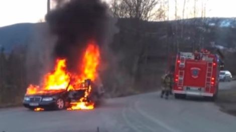 coche fuego